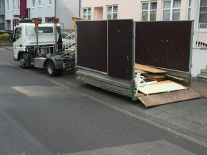 Container LKW