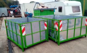 Mini Container für Entrümpelung Haus und Wohnungsräumung in Köln Bergisch Gladbach Leverkusen